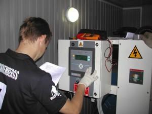 Обучение управлению дизель генератором