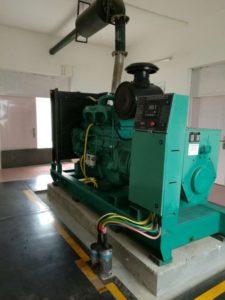 установка дизельных генераторов